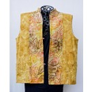 Fall Colors Batik Vest